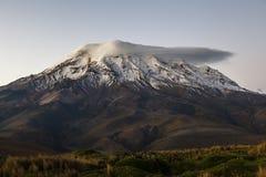 Chimborazo, at dusk Stock Photography