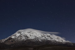 Chimborazo, at night Stock Photography