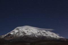 Chimborazo, at night Stock Photography