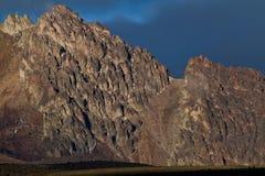 Chimborazo volcano in andean Ecuador Royalty Free Stock Photo