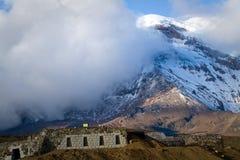 Chimborazo volcano in andean Ecuador Stock Image