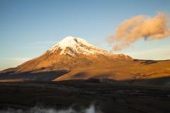 Free Chimborazo Volcano At Sunset. Stock Images - 56313424