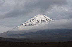 Chimborazo Volcano. Ecuador's highest summit Stock Photo