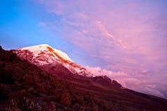 Chimborazo Volcano. Ecuador Royalty Free Stock Photo