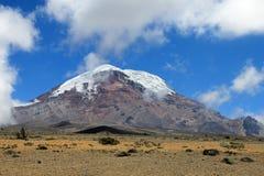 Chimborazo volcano, high andes, Ecuador Stock Images