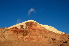Chimborazo volcano, high andes, Ecuador Royalty Free Stock Photos