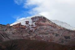 Chimborazo volcano, high andes, Ecuador Stock Photo