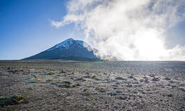 Chimborazo volcano Stock Photo
