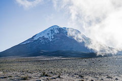 Chimborazo volcano Stock Photos