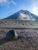 Chimborazo volcano Royalty Free Stock Images