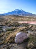 Chimborazo volcano Royalty Free Stock Photography