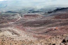 Chimborazo vulkan, Ecuador Royaltyfri Foto