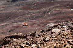 Chimborazo vulkan, Ecuador Arkivfoton