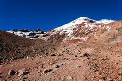 Chimborazo vulkan, Ecuador Royaltyfri Fotografi