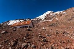 Chimborazo vulkan, Ecuador Royaltyfri Bild