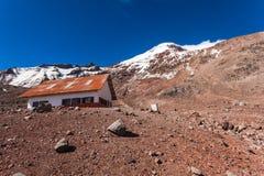 Chimborazo vulkan, Ecuador Royaltyfria Foton