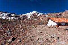 Chimborazo vulkan, Ecuador Royaltyfria Bilder