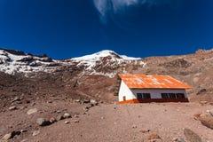 Chimborazo vulkan, Ecuador Arkivfoto