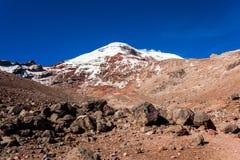 Chimborazo wulkan, Ekwador Obraz Royalty Free