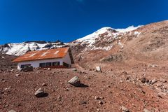 Chimborazo wulkan, Ekwador Zdjęcia Royalty Free