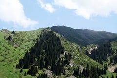 Chimbulak, il Kazakistan, Almaty Fotografie Stock