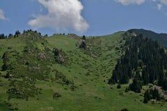 Chimbulak Kasakhstan, Almaty Royaltyfri Fotografi