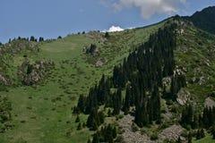 Chimbulak Kasakhstan, Almaty Royaltyfri Foto