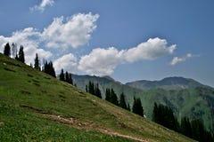 Chimbulak, Kazakhstan, Almaty Image stock