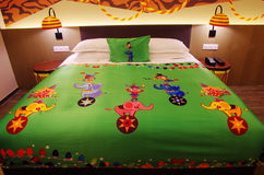 Chimelong Circus Hotel room in Zhuhai Royalty Free Stock Images