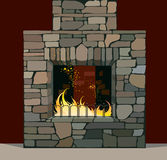 Chimenea libre illustration