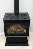 Chimenea de gas Imagen de archivo libre de regalías