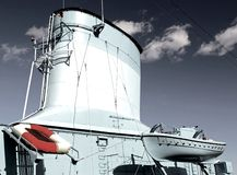 Chimenea de la nave Foto de archivo