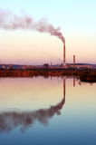 Chimenea industrial Foto de archivo libre de regalías