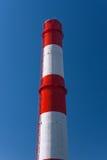 chimenea Rojo-blanca Imagenes de archivo