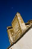 Chimenea tradicional Alentejana, Portugal Fotos de archivo