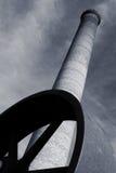chimenealampglas Arkivbilder