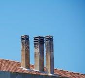 chimeneas Imagen de archivo libre de regalías