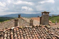 chimeneas Imagen de archivo