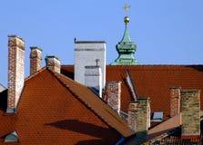chimeneas Foto de archivo libre de regalías