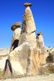 Chimeneas de hadas en Cappadocia, Turquía Fotografía de archivo libre de regalías