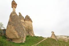 Chimeneas de la hada de Cappadocia Foto de archivo