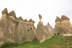 Chimeneas de la hada de Cappadocia Fotos de archivo libres de regalías