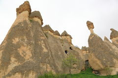 Chimeneas de la hada de Cappadocia Fotos de archivo