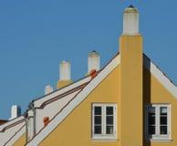 Chimeneas de Skagen imagen de archivo libre de regalías