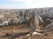 Chimeneas en Cappadocia Turquía Imágenes de archivo libres de regalías
