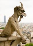 chimera贵妇人・ de notre巴黎 免版税图库摄影