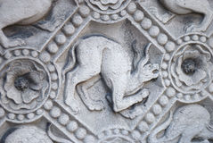 Chimera carved in stone Royalty Free Stock Photos