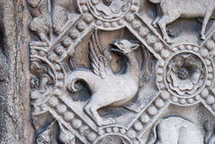 Chimera carved in stone Royalty Free Stock Photography