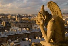 Chimera di Parigi Immagini Stock
