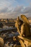 Chimera di Parigi fotografie stock libere da diritti